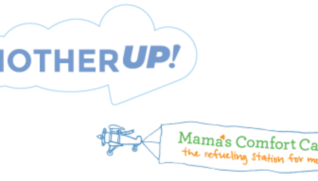 Mother Up! and Mama's Comfort Camp logos